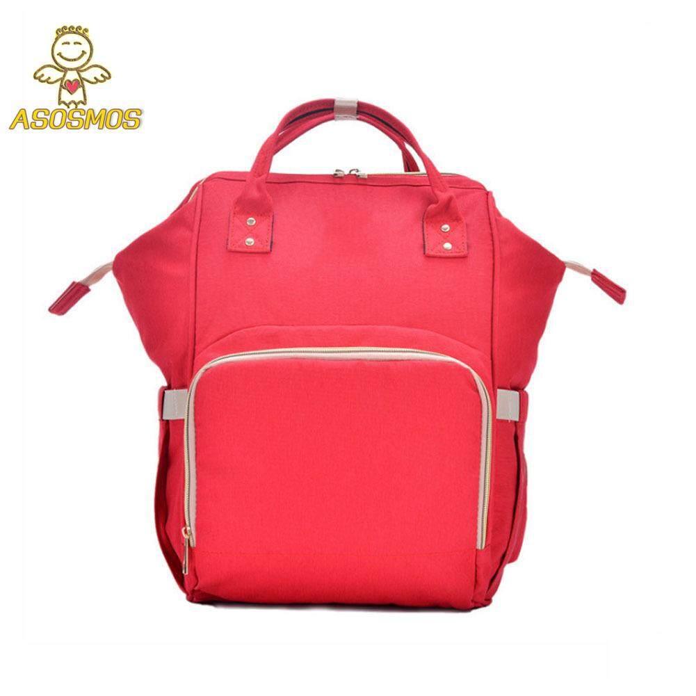 ASM Mommy ความจุมากผ้าอ้อมเด็กกระเป๋าเป้สะพายหลังผ้าอ้อม Nursing Travel กระเป๋าสำหรับดูแลเด็ก แนะนำ ยี่ห้อไหนดี
