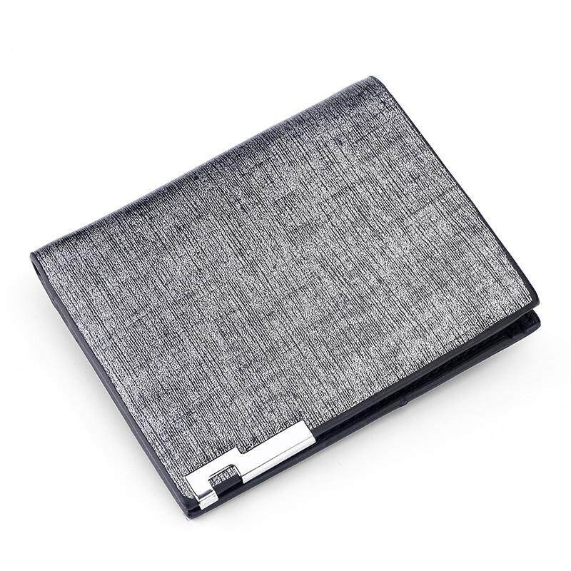 3e6ce3a1749f New product discount Slim Short Wallets Men Small Money Purse with Card  Photo Holder Cross Wallet