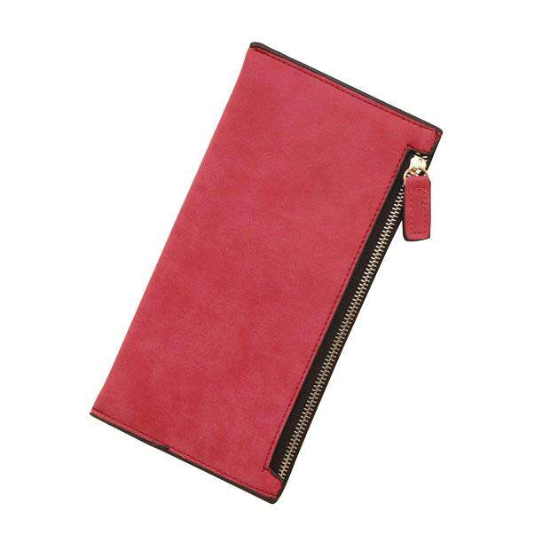 2016 New Long Style Letter Nubuck women wallets Female Lovely wallet card holder coin purse Holders