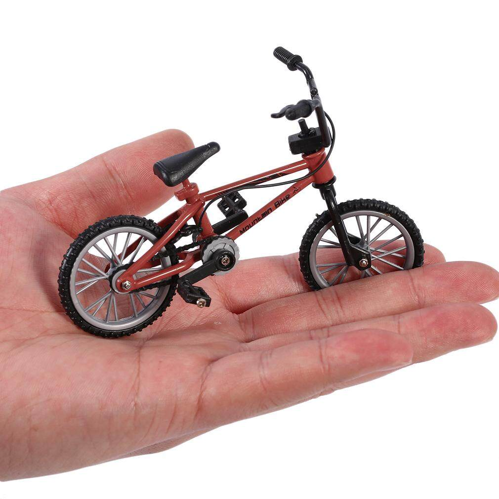 Hình ảnh Yika Mini Size Simulation Alloy Finger Bike Children Kid Funnt Mini Finger Bike Toy
