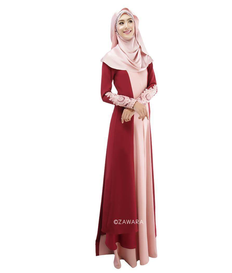Bestoneday Cross Border Special For Thin Muslims Splicing Fashion Long Skirts Malaysia India Long Sleeved Dress National Dress. - intl
