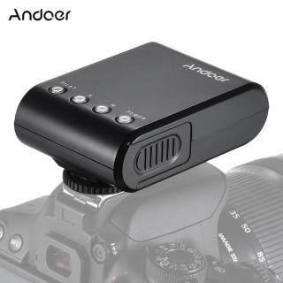 Andoer WS-25 Đèn Flash Giao Thông Kỹ Thuật Số Mini Cầm Tay Chuyên Nghiệp Đèn Flash Speedlite Trên Máy Ảnh Đèn Flash Với Giày Nóng Thông Dụng GN18 Dành Cho Máy Ảnh Canon Nikon Sony A7 Nex6 HX50 A99 thumbnail