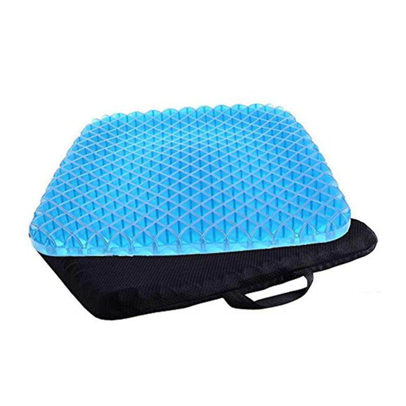 Outflety Premium All Gel Orthopedic Seat Cushion Pad For Car, Office Chair, Wheelchair, Or Home. Pressure Sore Relief. Ultimate Gel Comfort, Prevents Sweaty Bottom, Durable, Portable By Outflety.