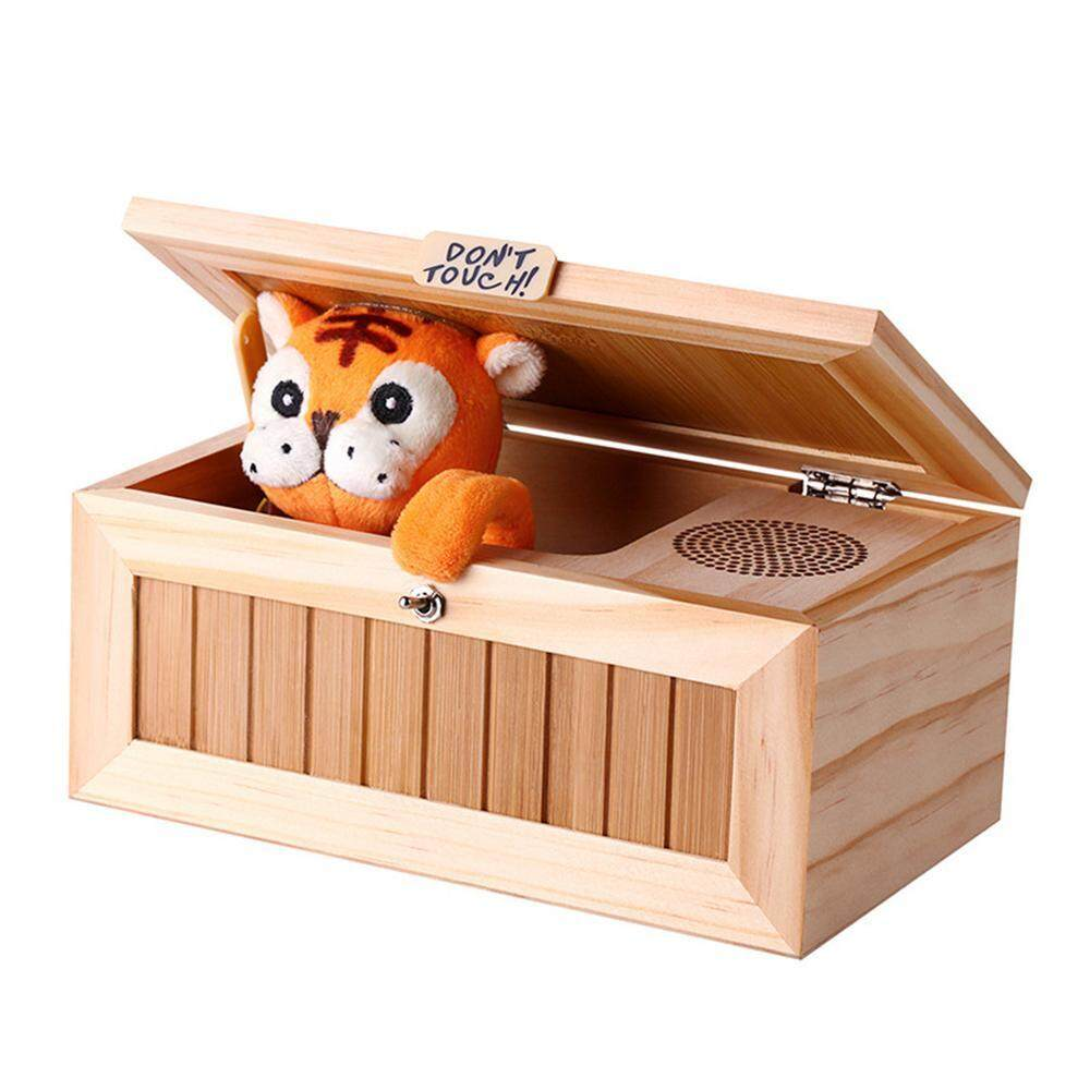 yongcai Funny Don't Touch Useless Box Fully Assembled Leave Me Alone Machine Box (Tiger) - intl