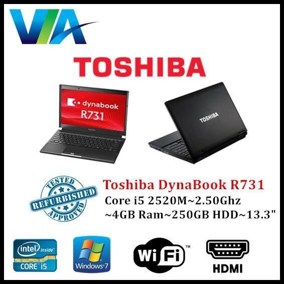 Refurb Toshiba DynaBook R731~Ci5~4Gb Ram~250Gb~13.3 Malaysia