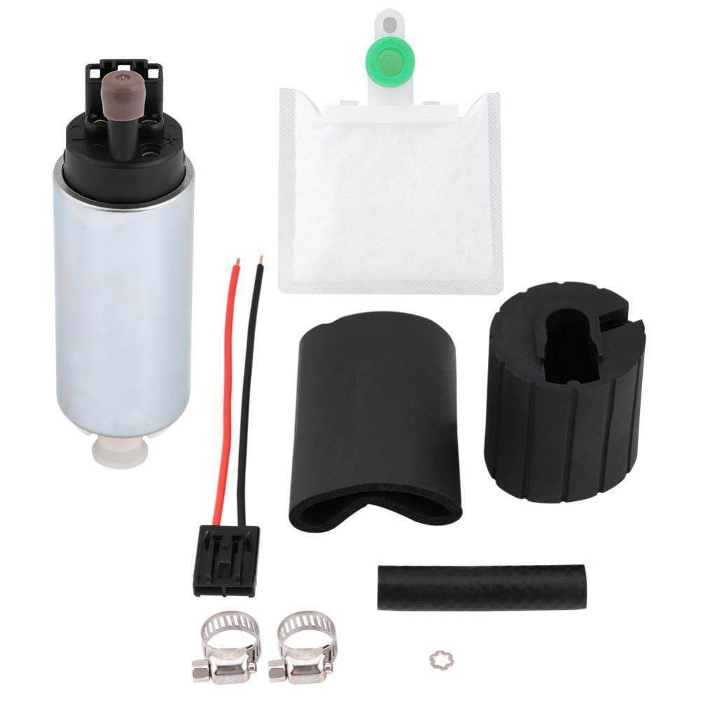255LPH Universal High Pressure Electric In-tank Fuel Pump with Installation  Kit GSS342 - intl