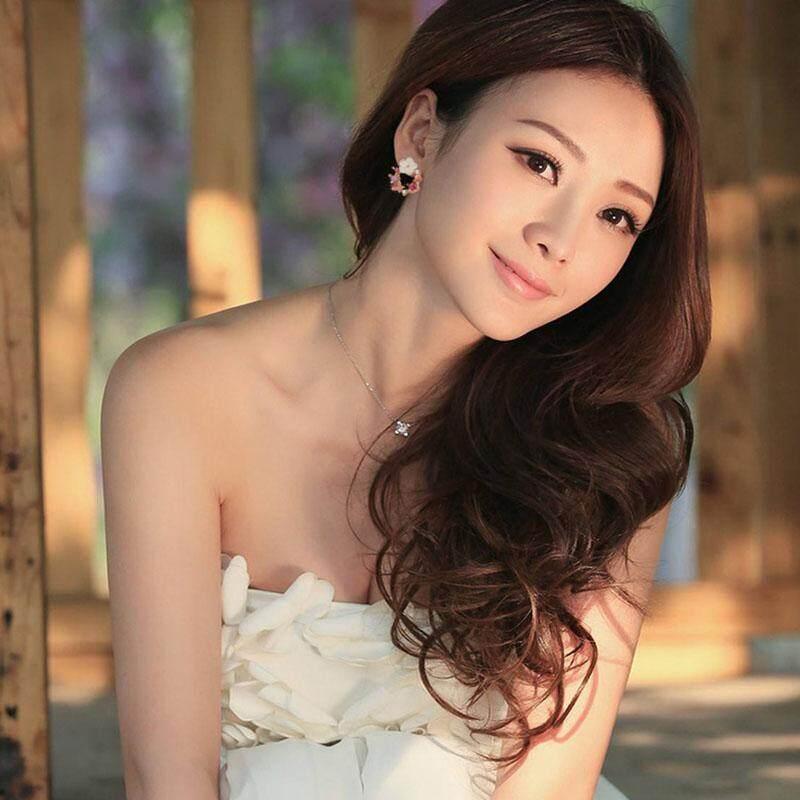 Jual Hot Korea Lucu Warna-warni Cangkang Berlian Imitasi Bunga Lingkaran Anting-anting Tatah untuk Wanita Manis Fashion Karangan Bunga Perhiasan Telinga-Intl