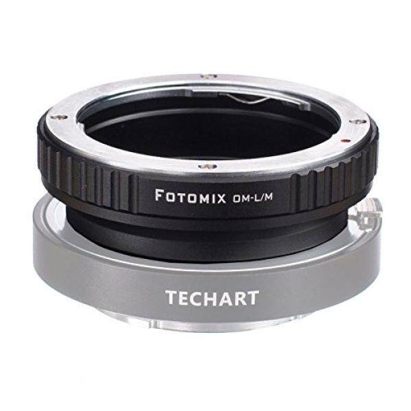 FOTOMIX OM-LM Mount Adapter for Olympus OM Lens to Leica M L/M M9 M8 M7 M6 M5 Camera Works with 5.0 TECHART Auto Focus LM-EA 7 - intl