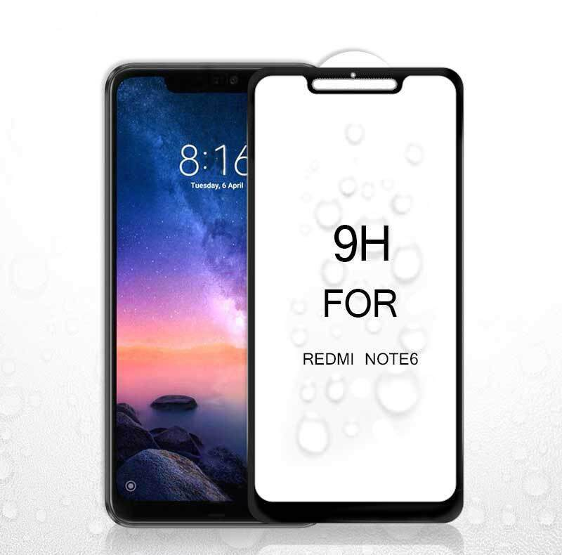 9H 5D Full Screen Coverage Protector Tempered Glass For Redmi Note 6 Pro(2018)