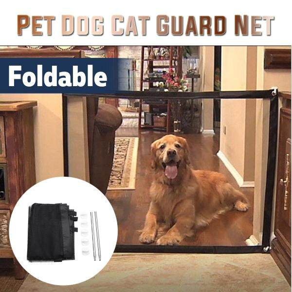 Lưới Nylon Gấp Gọn Tiện Dụng Cho Chó Mèo, Rào Cản Cửa Hàng Rào Bảo Vệ An Toàn
