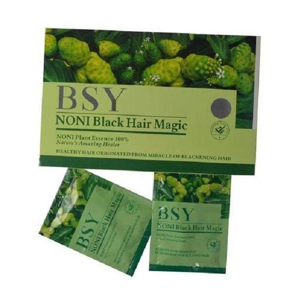 BSY NONI Black Hair Magic Shampoo 1 kotak x20 keping