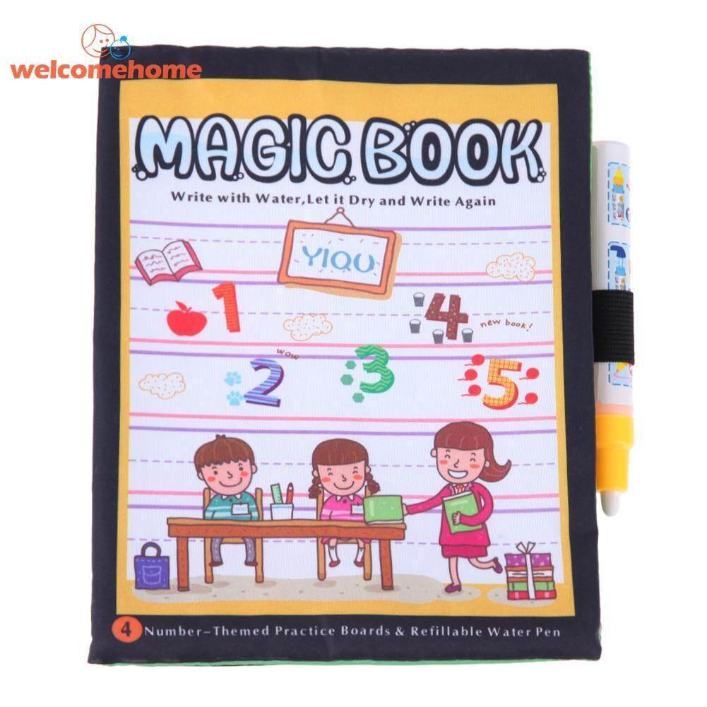 Jumlah Mewarnai Buku Ajaib Sketsa Lukisan Air Anak-Anak Buku Gambar Dengan Pena-Internasional By Welcomehome.