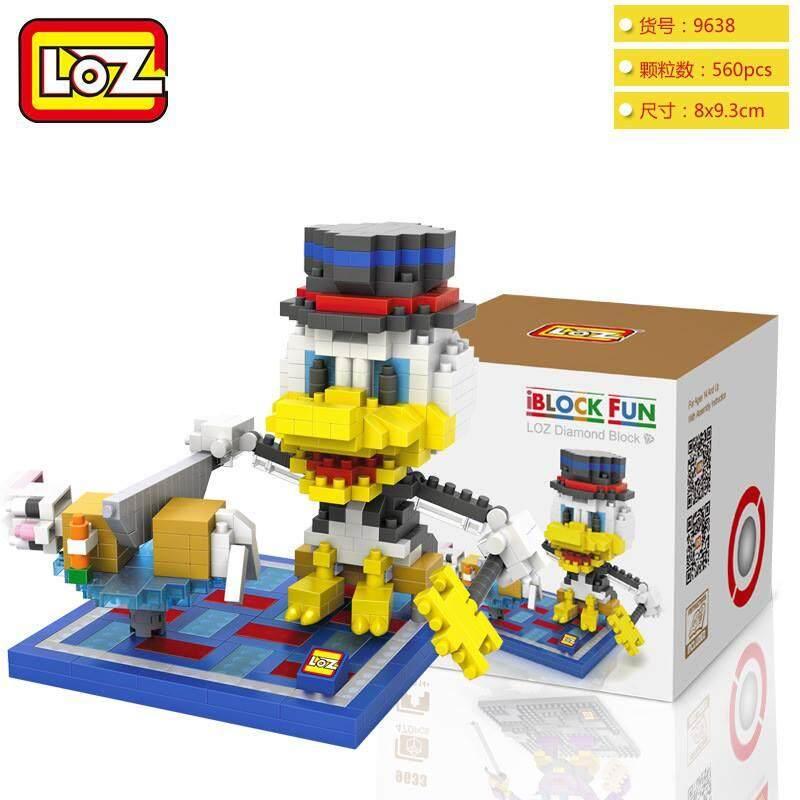 LOZ DIY Donald Duck Nanoblock Puzzle 2