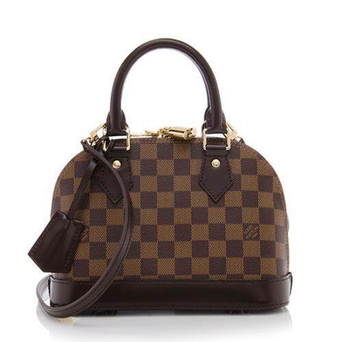 Louis Vuitton Damier Ebene Alma Bb Shoulder Bag