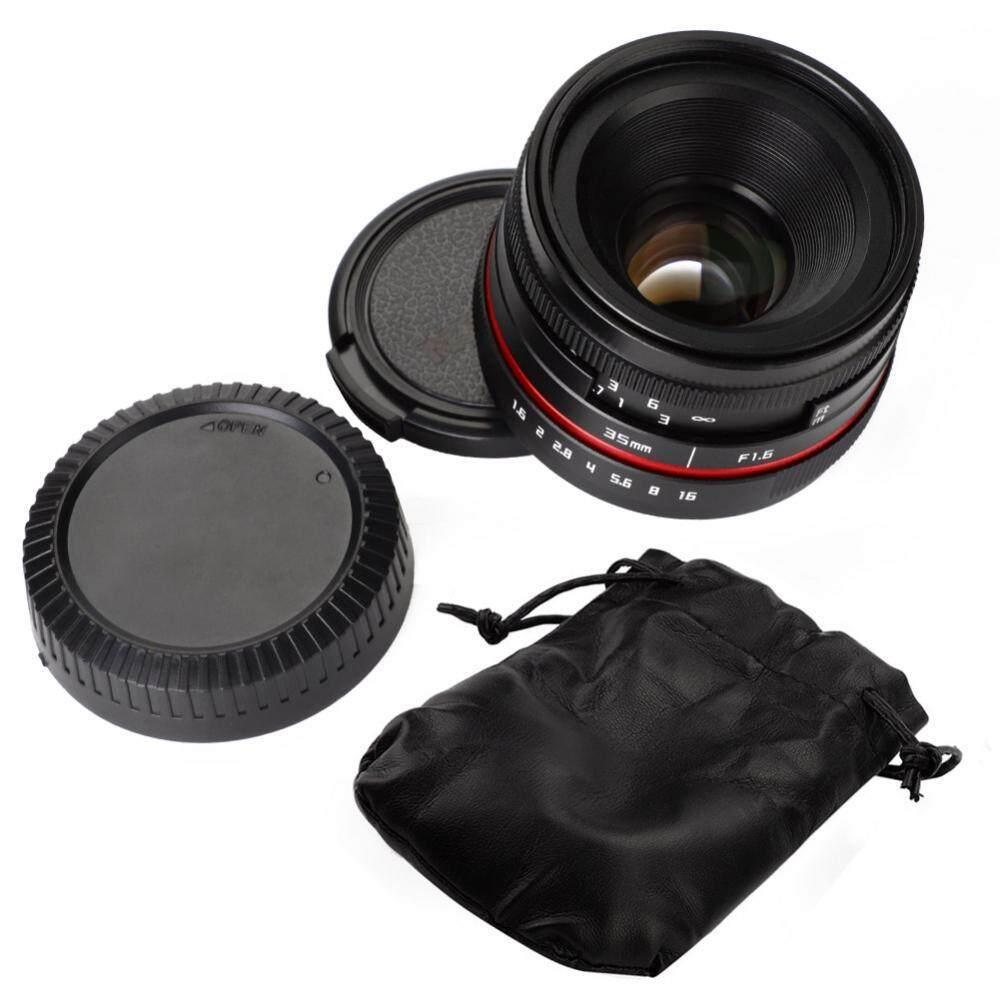 35 Mm F1.6 Apertur Manual Lensa Fokus Aksesori untuk Kamera Digital (untuk Sony)-Intl