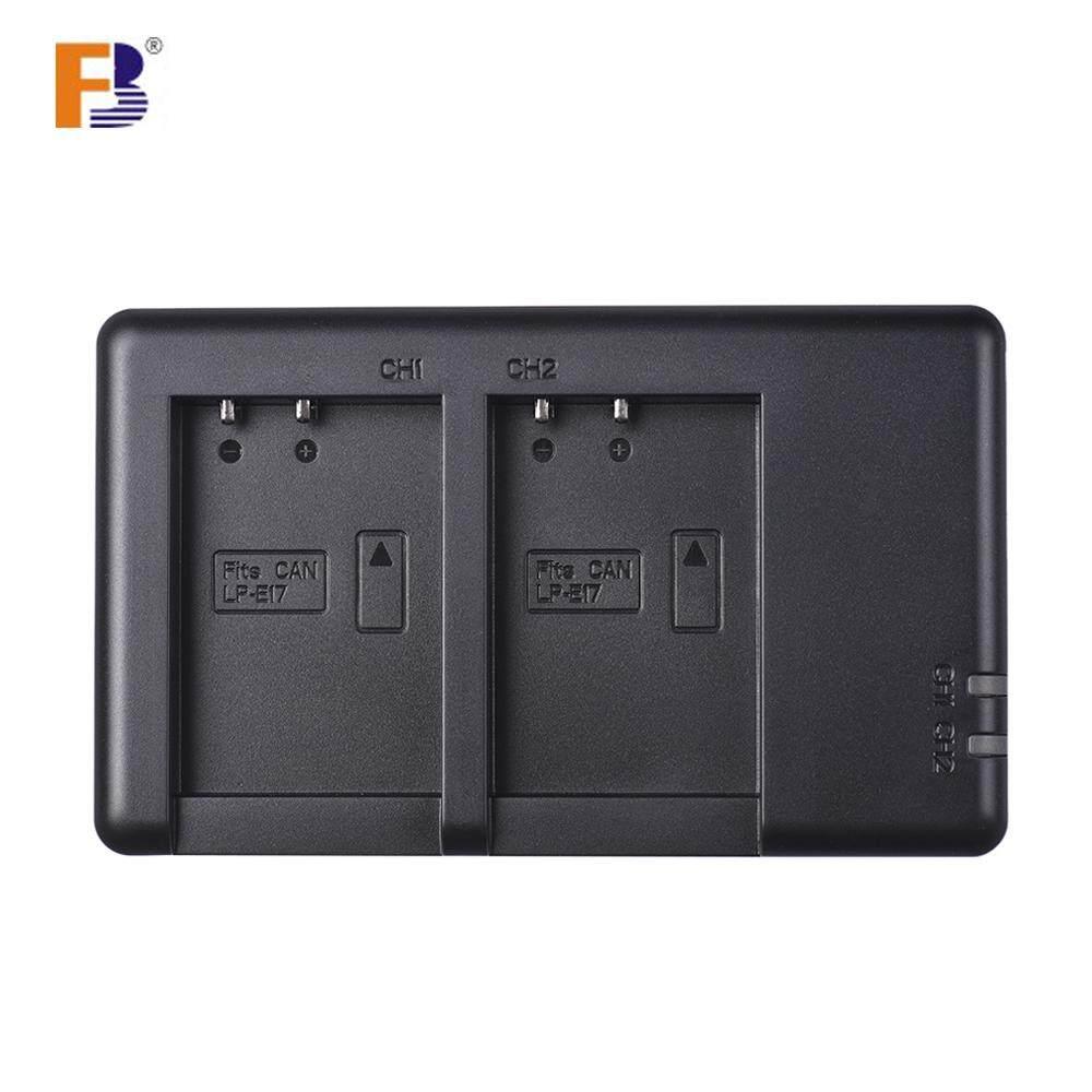 FB Dual USB LP-E17 Charger Kamera untuk Canon 750D 760D Pemberontak T6i T6s EOS M3/M5/M6/800D /77D-Intl