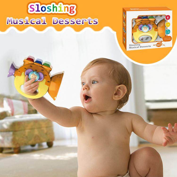 Baby Toys Musical Desserts Sloshing For Kid's