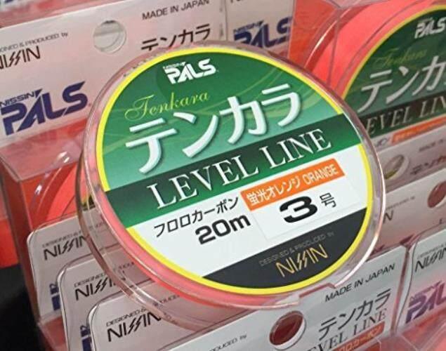 Nissin ONI Ryu Orange Tenkara Level Line (4) - intl