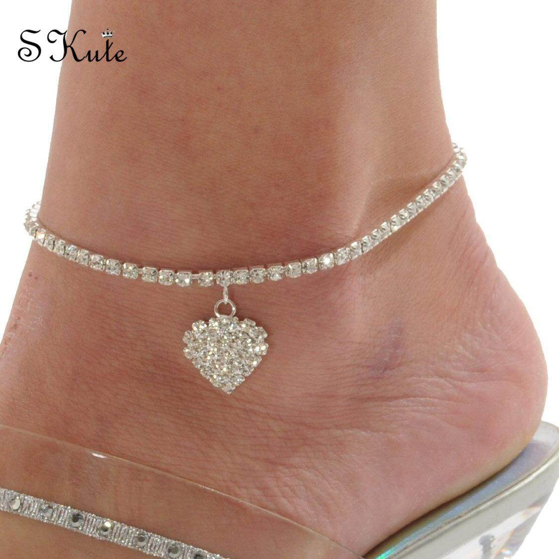 Goldplated Barefoot Beach Ankle Indian Women Bridal Wedding Chain Anklet Jewelry Fußkettchen