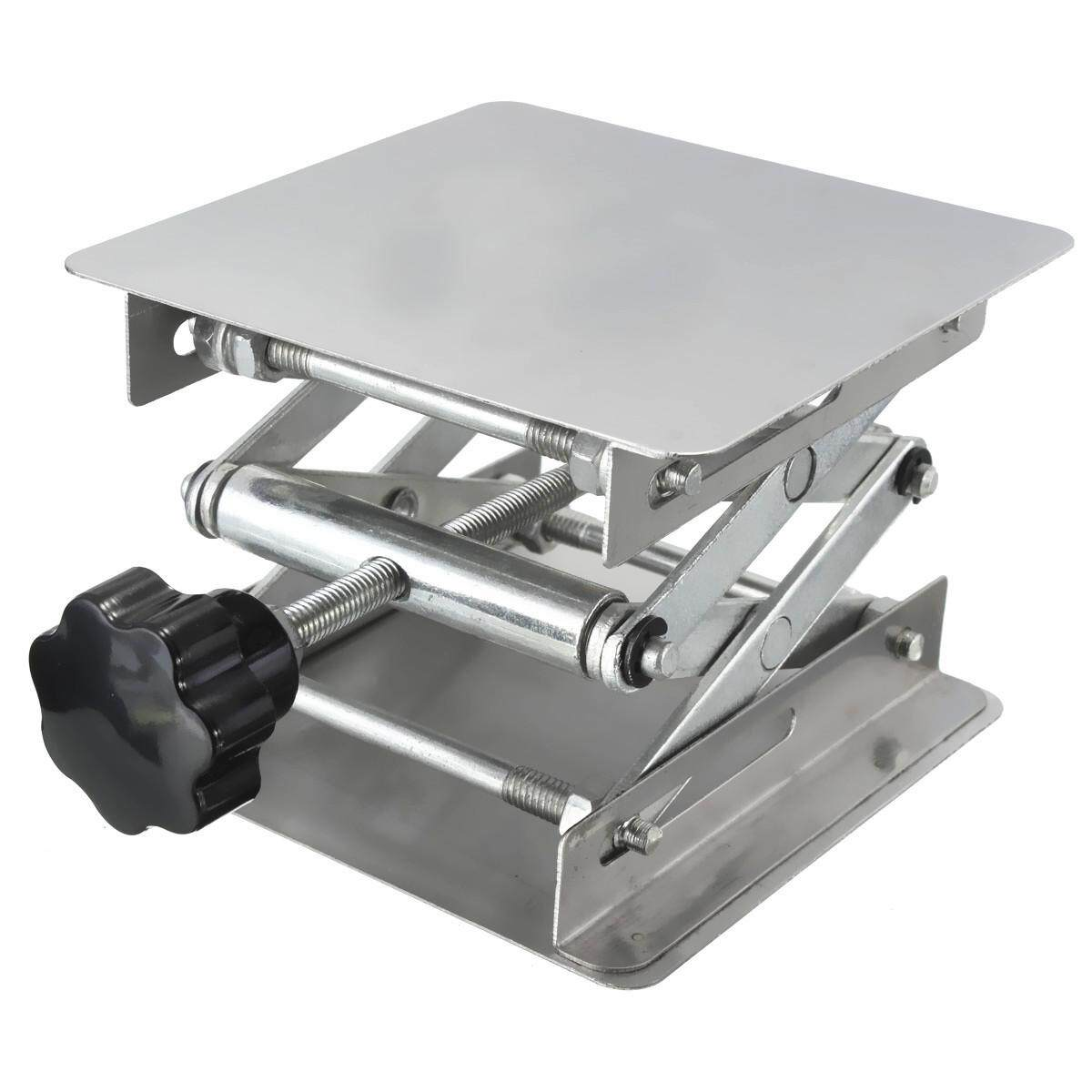 Lab-Lift Lifting Platforms Stand Rack Scissor Lab-Lifting Stainless Steel 4×4inch