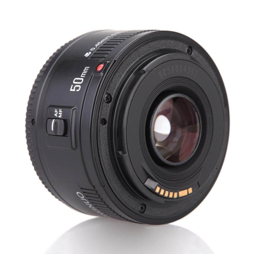 Yongnuo YN EF 50 Mm F/1.8 AF Lensa 1:1. 8 Standar Lensa Utama Aperture Auto Fokus untuk Canon Eos Kamera DSLR-Intl
