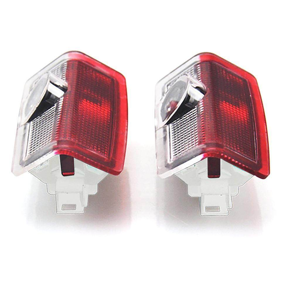 Iooilyu Car Door Led Projector Light, 2 Packs Entry Lighting Welcome Logo Lights Easy Installation Car Door Courtesy Lights - Intl By Iooilyu.