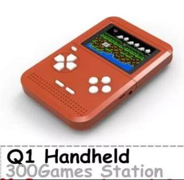 Handheld Game Q1 Built-in 300 Games Mini Retro Games 8 Bit