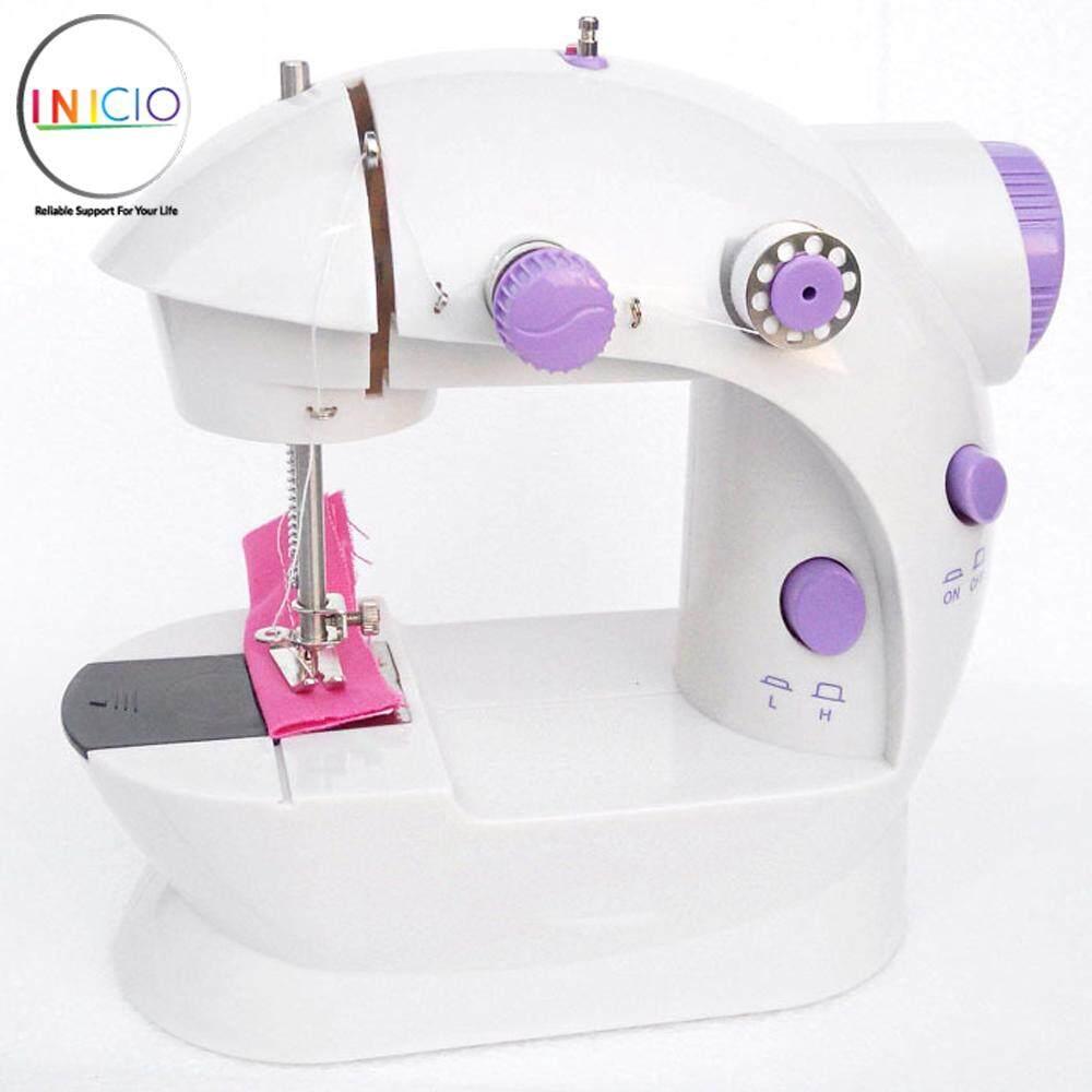INICIO: Portable Dual Speed Mini Household Multi-Usage Sewing Machine