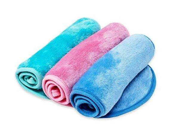 Buy RAINBOW ROVERS Set of 3 Makeup Remover Wipes   Reusable & Ultra-fine Makeup Towels   Suitable for All Skin Types   Removes Makeup with Water   Free Bonus Waterproof Travel Bag   Multiple Colours Singapore