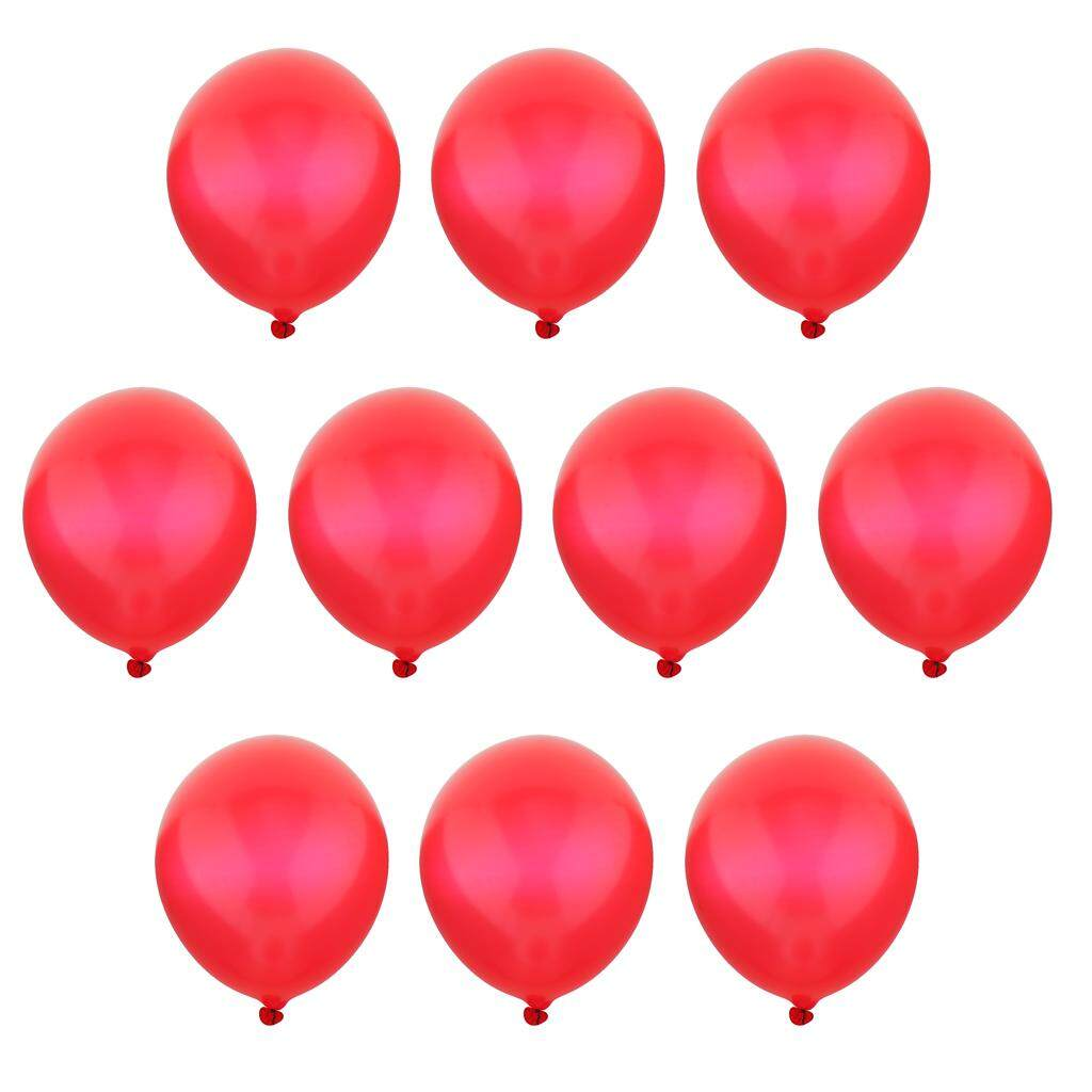 BolehDeals Nice Quality 10Pcs Multicolor 36 inch Tail Latex Balloons Birthday Wedding Party Decor Classic Toys