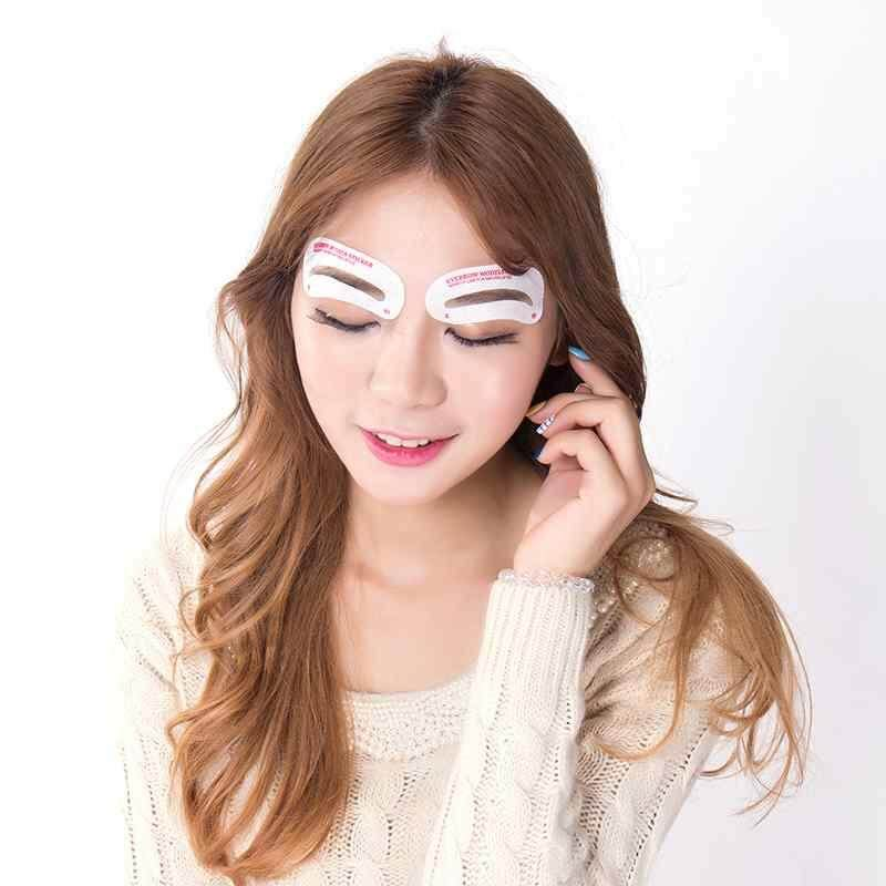 Features Dongxi Drawing Brow Card Eyebrow Shaping Stencils 12 Pcs