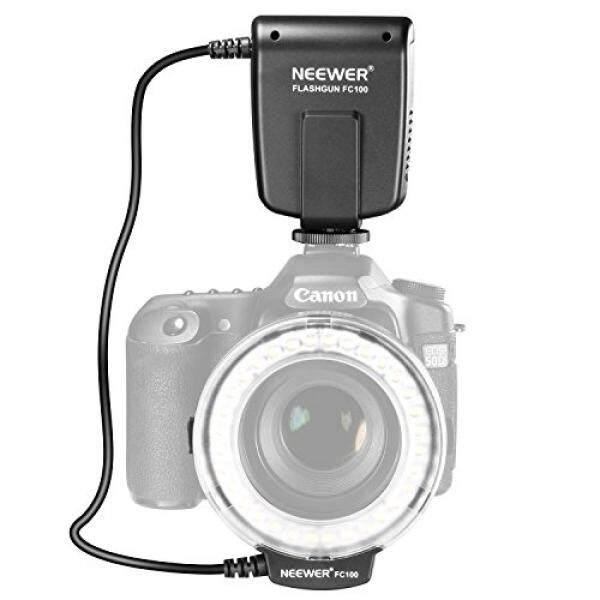 Neewer FC100 32 Super Bright LED Macro Ring Flash For Canon, Nikon,Olympus, Pentax SLR Cameras (Will Fit 52, 55, 58, 62, 67, 72, 77mm Lenses) Canon Digital EOS Rebel T1i (500D), T2i (550D), XSI (450D),XTI (400D), XT (350D), 60D , 50D, 40D, 30D, 20D,