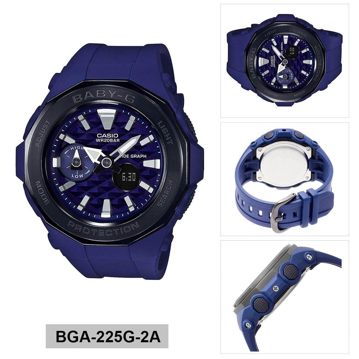 Jam Tangan Olahraga Wanita Casio Baby G Bga 210 4b Original Garansi Resmi 1 Tahun Blue Resin Case Strap Ladies 225g 2a