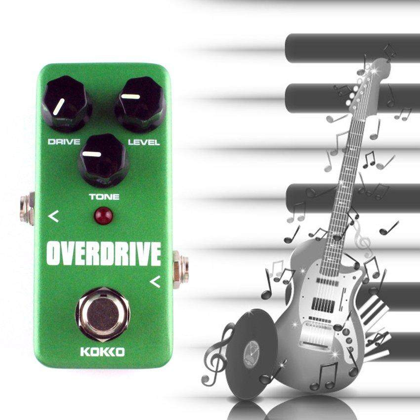 Detail Gambar Lgds Darieldrin FOD3 Mini Overdrive Efek Gitar Listrik Pedal Tabung Overload Stompbox Terbaru