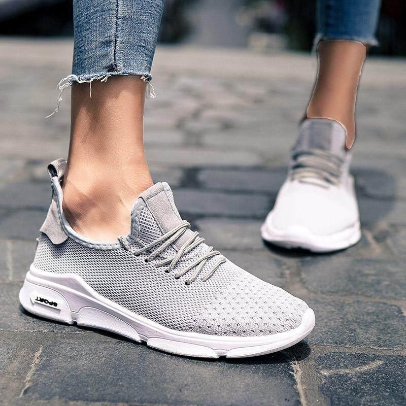 Yealon Bernapas Udara Jaring Kain Ringan Wanita Lari Sneakers Wanita Olahraga Sepatu untuk Wanita Berjalan Sepatu