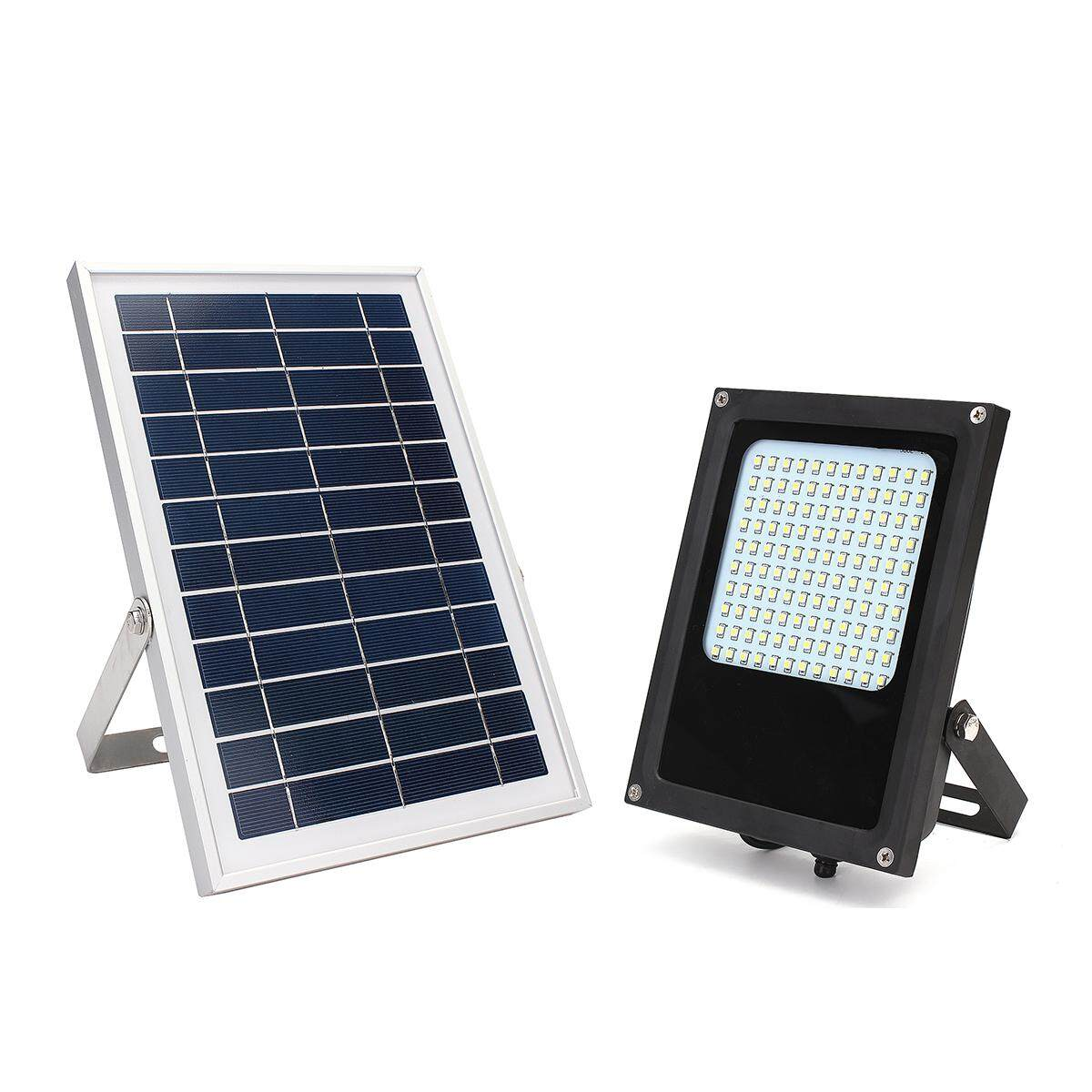 15W 120 LED Solar Powered Panel Floodlight Night Sensor Outdoor Garden Spot Lamp
