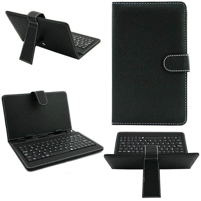 Malloryshop 7 inch Leather Case Cover USB Keyboard for Android Windows Tablet Malaysia