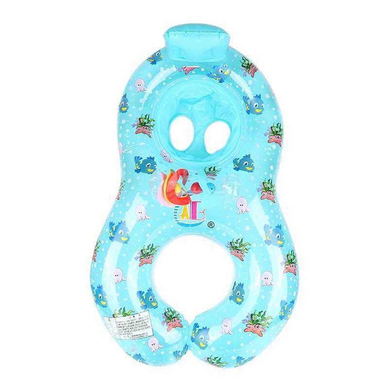 【Vigo】The Limited Time Special New Class High Quality Float Raft Inflatable Mother Baby Swim Kids Chair Seat Swim Ring Aid Trainer