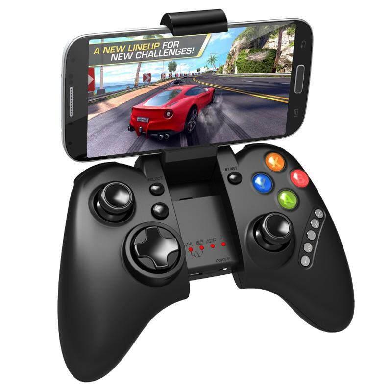 Kerui Bluetooth 3.0 Multimedia Nirkabel Pengontrol Dudukan Permainan Ipega PG 9021 Gamepad Joystick untuk Game untuk