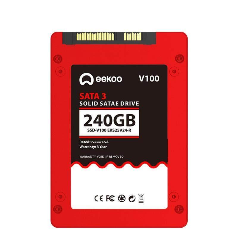 AE Eekoo SSD SATA3 2.5 Inch 60 GB/120G/240G/480G Solid State Drive Volume: merah 240 TLC Cache 2 GB