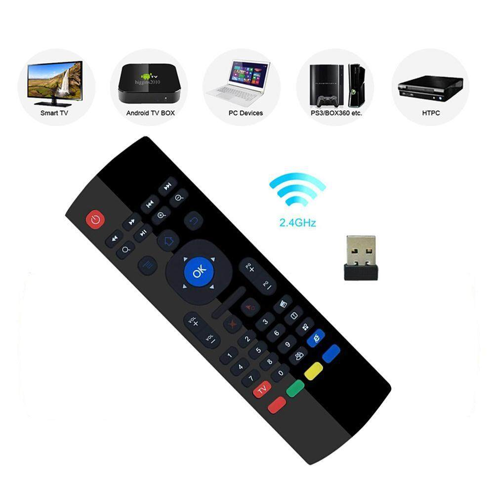 I-Cloud MX3 Multifunction 2.4G Air Mouse Mini Wireless Keyboard & Infrared Remote Control Malaysia