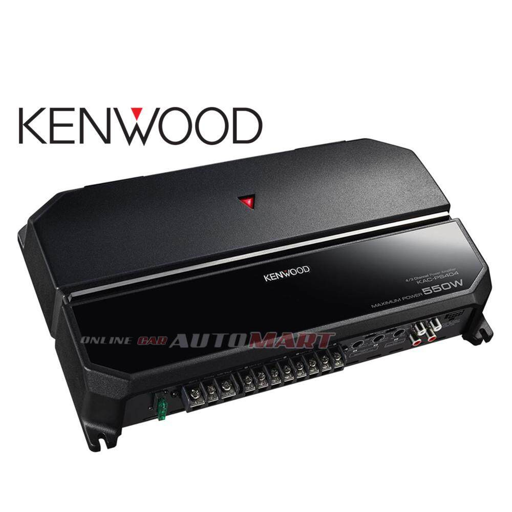 Automotive Amplifiers Buy At Best Price In 1500 Watt High Power Amplifier Kenwood Kac Ps404 4 3 2 Channel Performance Series