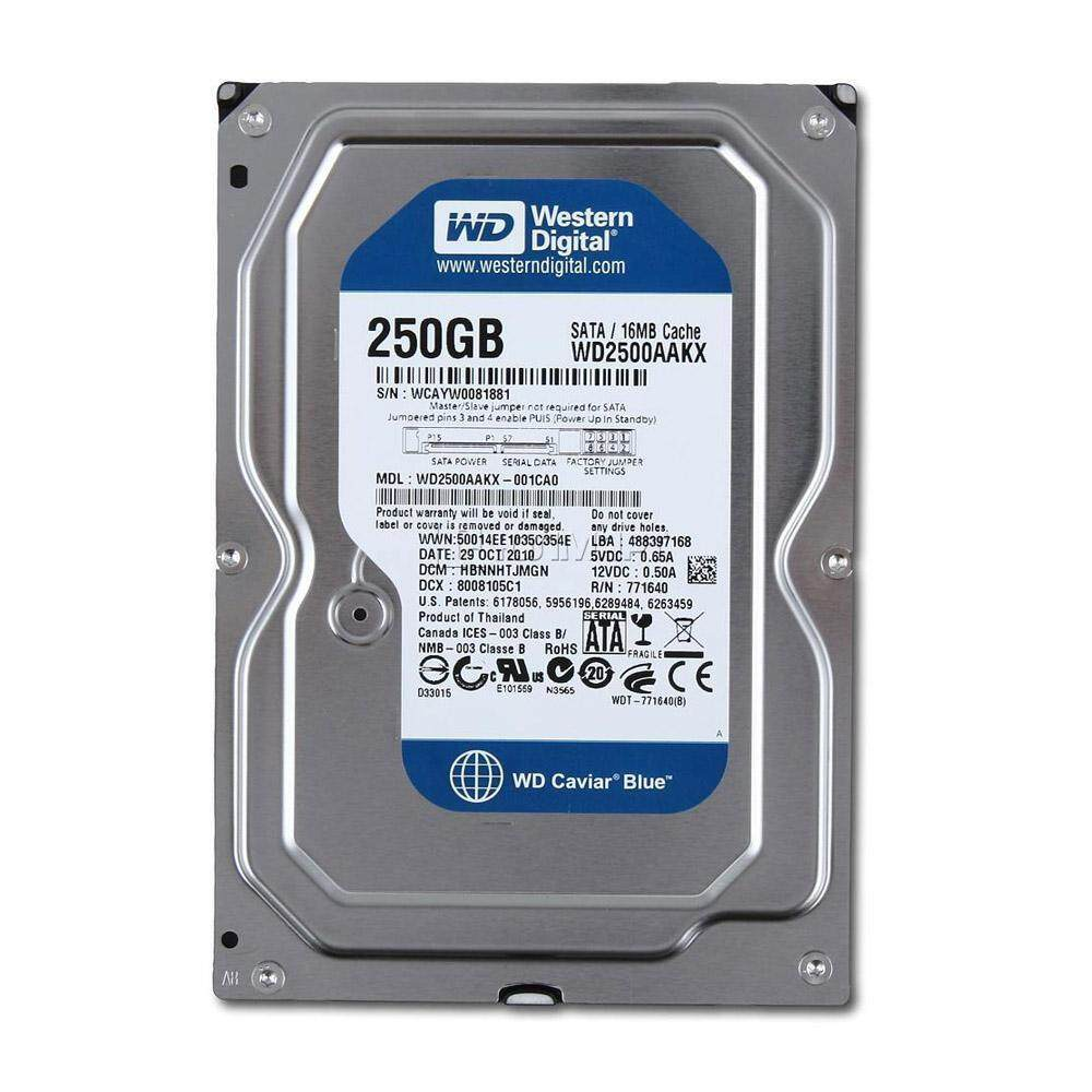 Wd Internal Hard Drives For The Best Prices In Malaysia Hdd 4tb Purple Sata3 35 Refurbished 250gb Sata Desktop Disk 1 Month Warranty