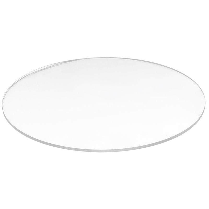 Transparent 3mm thick Mirror Acrylic round Disc Diámetro:60mm - intl giá rẻ