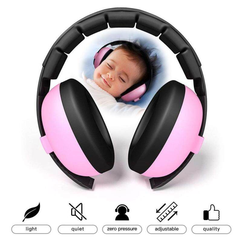 GoodScool Baby Noise Reduction Earphones,Baby Earmuffs Infant Hearing Protection – Ages 0.6+ Years – THE BEST EARMUFFS FOR BABIES & TODDLERS – Industry Leading Noise Reduction Rating – Soft & Comfortable – Baby Ear Protection