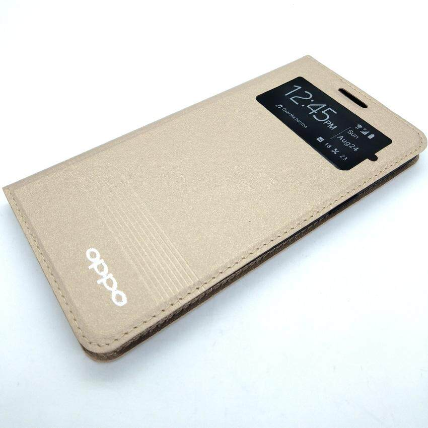 Fitur Mr Oppo Find Muse R821 Flip Cover Oppo R821 Leather Case