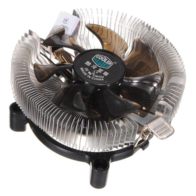 Top Quality Silent Cooling Fan CPU Heatsink Falcon Bench Cooler Master CPU Computer Fan Cpu Fan Computer Component Malaysia