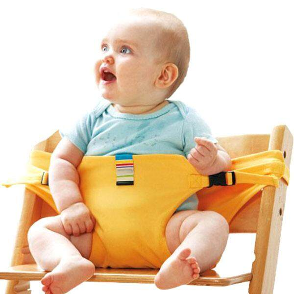 Portable Baby Chair Infant Seat Product Dining Lunch Chair Seat Safety Belt Feeding High Harness - intl