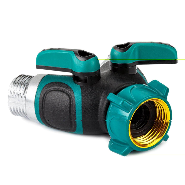 Features Outdoor Utility Y Valve Water Tap Connector Garden Hose ...