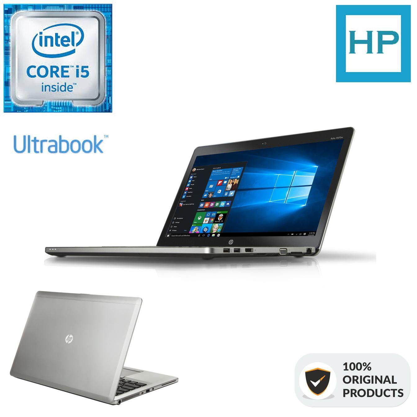 HP ELITEBOOK FOLIO 9480M [ULTRABOOK] [CORE I5 G4  8GBRAM  1TB STORAGE] Malaysia
